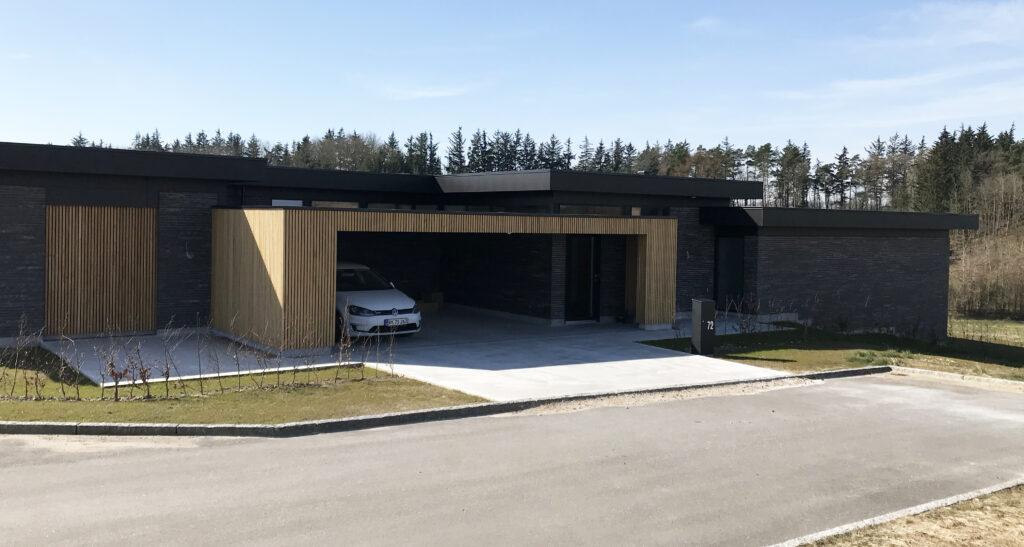 Nybyggeri - Arkitekttegnet villa i Støvring